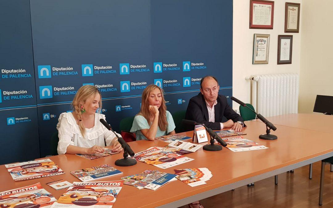Pesentación de la temporada de verano del Museo Bustos en Diputación de Palencia