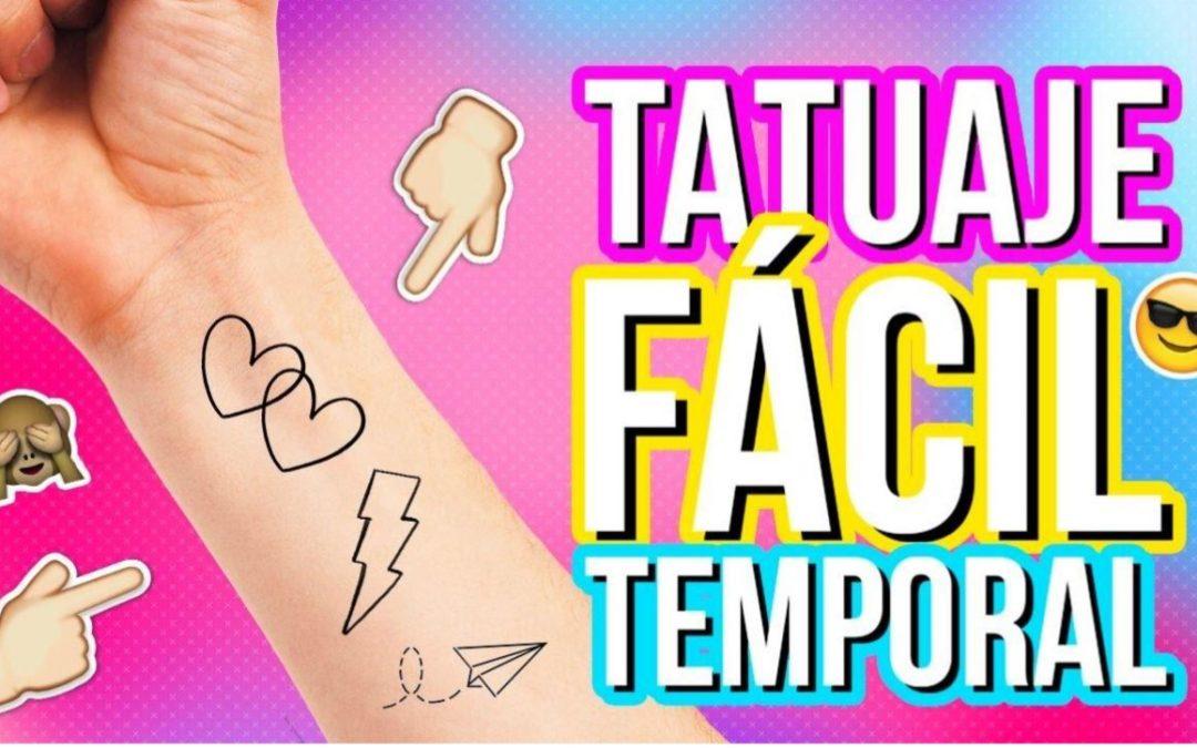 TALLER INFANTIL DE TATUAJES Y PLASTILINA